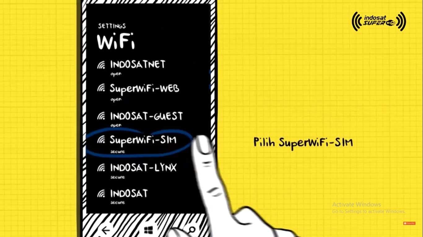 Silakan-pilih-koneksi-wifi-SuperWifi-SIM